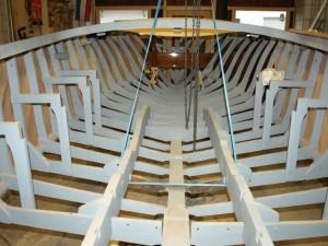 Klassische Holzmotorboote